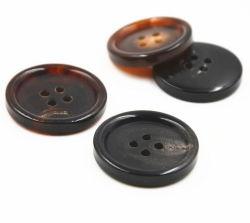 実質の自然なバッファローの角製ボタン
