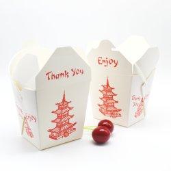 16oz одноразовые площади упаковки продуктов питания рисовая лапша Doner макароны бумаги .