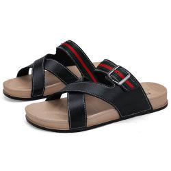 As sandálias confortáveis para caminhadas, a sapata de importação China Alta Qualidade Sandálias sublimação, com Novo Design de Moda homens sandálias de couro