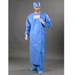 Pacote completo de SMS por grosso estéreis descartáveis vestido cirúrgico