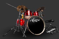De in het groot Uitrusting van de Trommel van de Percussie van het Drumstel van het Merk Aiersi voor Verkoop