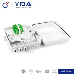 FTTH fibre optique 4 /8/16core la boîte de raccordement boîtier de distribution pour intérieur et extérieur