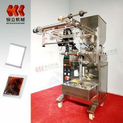 De automatische Machine van de Verpakking van het Type van Kraag Vffs Vloeibare met Horizontale Bewogen Apparaten