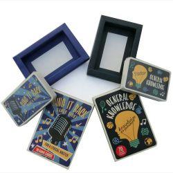 Jeu personnalisé de haute qualité des cartes de Tarot de Cartes à Jouer au Poker Tin Box pour fabricants de cartes de jeu