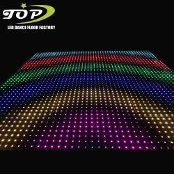 Com iPad controle on-line de Casamento Magnético Digital LED luzes de piso de dança para venda