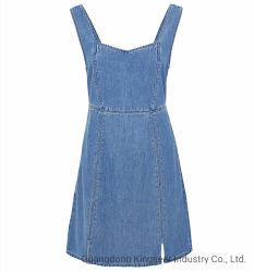 Kleding Jean Skirts Apparel Women Clothes van de Partij van de Rokken van de In het groot van de Manier van de fabriek Nieuwe Vrouwen van het Ontwerp gebruikte de Formele Toevallige het Sexy Denim Jean Dress van de Kleding