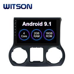Witson Android 9.1 Voiture Lecteur Multimédia DVD pour Ford Wrangler 2012-2017 l'électronique automobile GPS de voiture