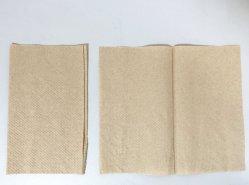 1Camada ultra suaves em papel Natural 334folhas toalha de mão Inter-Fold mistos