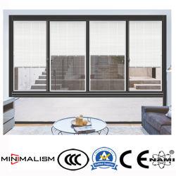 Алюминиевая рамка с закаленным стеклом / окна из алюминия с затвор