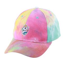 Nouveau mode de coton/polyester Hat Sports sublimé Tie-Dye Casquette de baseball d'impression