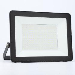Marcação alojamento preto PI66 Farol Alto Lúmen Reflector 50W 100W 200W Holofote LED SMD Estádio exteriores, campo de ténis com iluminação marcação AEA certificados ETL