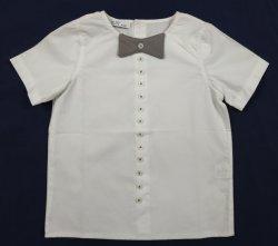 아기 둥근 목 간결 소매 셔츠 아이들의 옷