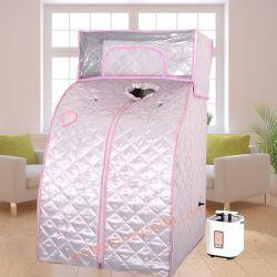가족을%s 더 온난한 기구로 두꺼운 피복 욕조 만드는 휴대용 증기 Sauna 또는 온천장 센터, 건강 아름다움 장비로 Foldable Sauna 룸으로