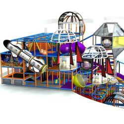 スペース主題は屋内運動場のためのトランポリン公園装置をからかう