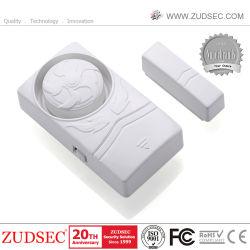 Tamaño mini magnéticamente activa de la seguridad de Windows Home Super fuerte 110dB Sirena alarma alarma sensor de puerta