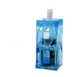 Kundenspezifische kühle Wein-Beutel-Bierflasche-Kühlvorrichtung u. Eis-Kühler-einfrierbarer Träger-Eis-Beutel