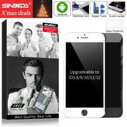 Sinbeda Aaaa Qualidade Visor LCD para iPhone 8 8 além do ecrã táctil LCD do conjunto de digitalização+câmara frontal + Alto-falante do fone de ouvido + Frame