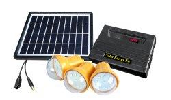 Nuovo sistema di illuminazione solare del modello 5W con le lampadine di 3PC LED