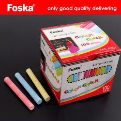 Foska la escuela y maestro papelería pizarra de tiza de colores