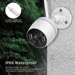 De draadloze P2p Camera van kabeltelevisie IP van de Kogel van WiFi van de Camera van de Veiligheid van het Netwerk