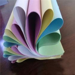 Kohlenstofffreies Papier kein Kohlenstoff erforderliches NCR-Papier für die Empfänge