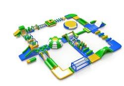 Giocattoli gonfiabili personalizzati della trasparenza dei giochi gonfiabili dell'acqua per la sosta dell'acqua