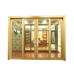 Profil en aluminium frame Vitre coulissante de porte avec des prix de gros de matériel