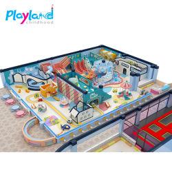 子供の柔らかい演劇の子供のゲームの屋内運動場の泡装置の更新済最も新しい屋内運動場