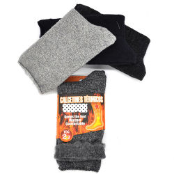 Thermische Sokken voor Mensen Verwarmde Sokken voor Uw Sokken van de Laars van Voeten voor Uiterste temperatures2405-10