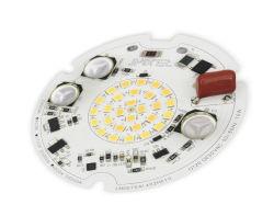 Modulo LED AC modulo LED rotondo a due colori per Plafoniera
