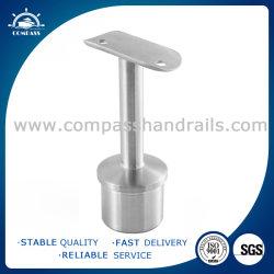 Tubo ajustable de 180 grados de acero inoxidable 304 orificios Support-Vertical