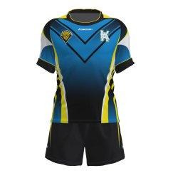 Impression en sublimation personnalisé Mens La Ligue de Rugby Sports Jerseys