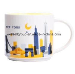 Grande tasse de café en céramique de la soupe avec C-Poignée (CPBZ-4025)