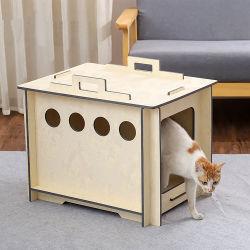 Qualidade elevada Inodoro Casa Pet Gaiola Pet Cat Carrier