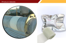 مقاومة درجات الحرارة العالية إصلاح الأنابيب الخرسانية في التربة الخزفية