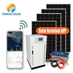 يمكن أن تزود محطة الطاقة الشمسية بقدرة 300 كيلو واط المجتمع بالطاقة