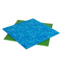stuoia EVA per l'asilo e capretti Carnie di ginnastica di EVA personalizzata stuoia della gomma piuma di EVA della stuoia di puzzle di EVA della stampa di disegno e dell'acqua dell'erba di 2cm
