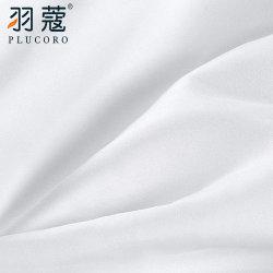 Beste Kwaliteit 100% Katoenen 300tc Wit Katoenbatist Bedsheet van het Hotel van de luxe