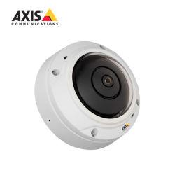 Eje original M3027-PVE cámara minidomo de red fija con Vistas panorámicas, Micrófono y altavoz