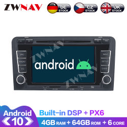 DVD-Spieler GPS-Navigation des Android-10.0 des Auto-4GB+64GB für Audi A3 S3 2003-2013 Selbstradiostereomultimedia-Spieler