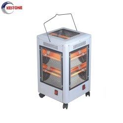 Remplis d'huile de chauffage électrique Lowes 220V 800W de quartz de chauffage infrarouge