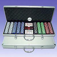 Des jetons de poker Set (P500L )