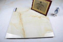 Couleur Beige porcelaine poli complet pour la maison Décoration carrelage de sol (600*600mm)