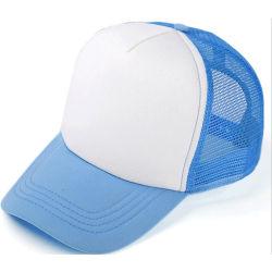Venda por grosso de painéis personalizados de alta qualidade 7 Plain Sport Snapback Malha Caps Caminhoneiro Chapéus Caps para homens