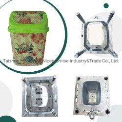 Boîte de déchets en plastique moule/d'injection Injection plastique moule pour la Poubelle