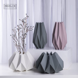China Großhandel Keramik Modern Morandi Home Dekoration Keramik Blumenvase