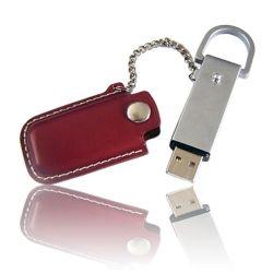 カスタマイズされた革USBのフラッシュディスクまたはフラッシュDrive/USBのフラッシュ・メモリディスク