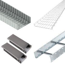 Ladder Type 알루미늄 스테인리스 스틸 와이어 메쉬 천공된 케이블 트레이