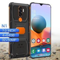 درع نوع قوة عالية البلاستيك غطاء الظهر ، حار في ماليزيا HD كل في آلة واحدة الهاتف المحمول الهاتف المحمول الهاتف الذكي
