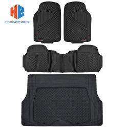 Tendência do Motor Flextough Plus Automóvel borracha preta tapetes do piso - All Weather Deep Dish tapetes para automóveis, Guarnição de Serviço Pesado para design de encaixe